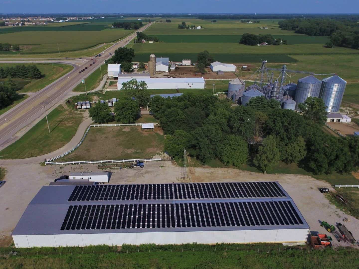 Renner Stock Farms, Belleville IL, 166kW