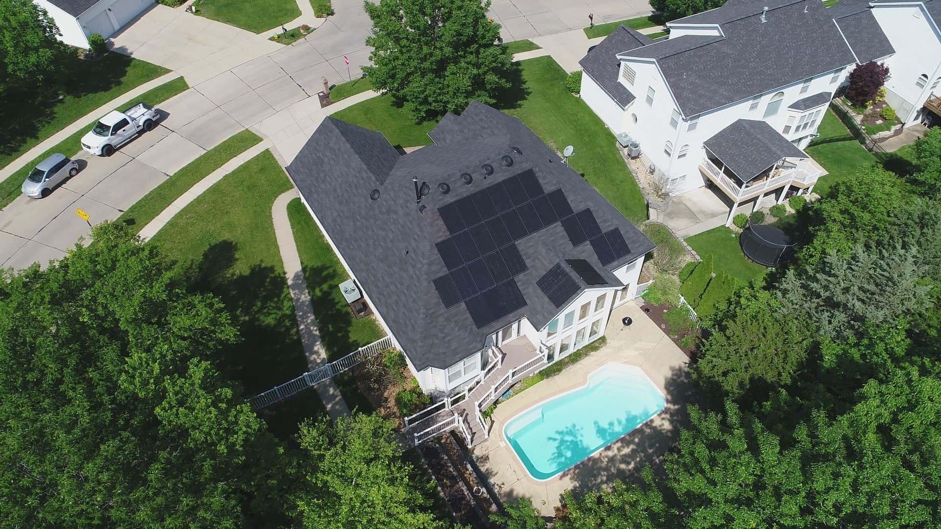Gorday Residence – St. Louis MO – 9.3kW