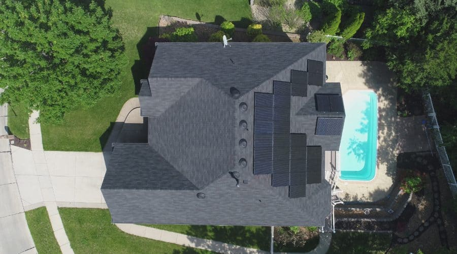 Residential Solar Panel Project in Fenton, MO