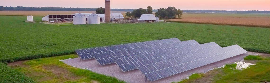 Elm Farms Inc, Site 5 – Okawville IL – 134.55 kW