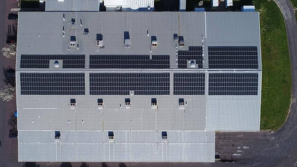 300kw Pitched Roof Commercial Solar Panel Installation